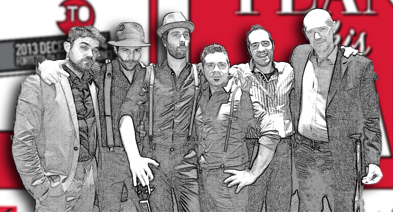 Jack Freezone & The Swinin' Ciccioli Live @ BTO 2013 Firenze Band Pics