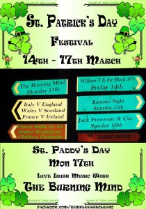 jack freezone & the swinin' ciccioli@ St Patrick's day festival