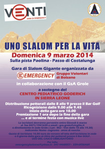EMERGENCY gara di sci-it